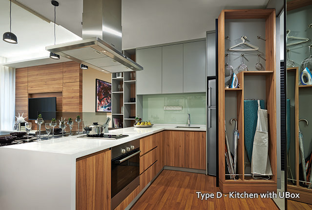 Type D - Kitchen with UBox